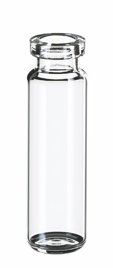 20ml SPME-Flasche, gerundeter Boden, 75,5 x 22,5mm, Klarglas, 1. hydr. Klasse