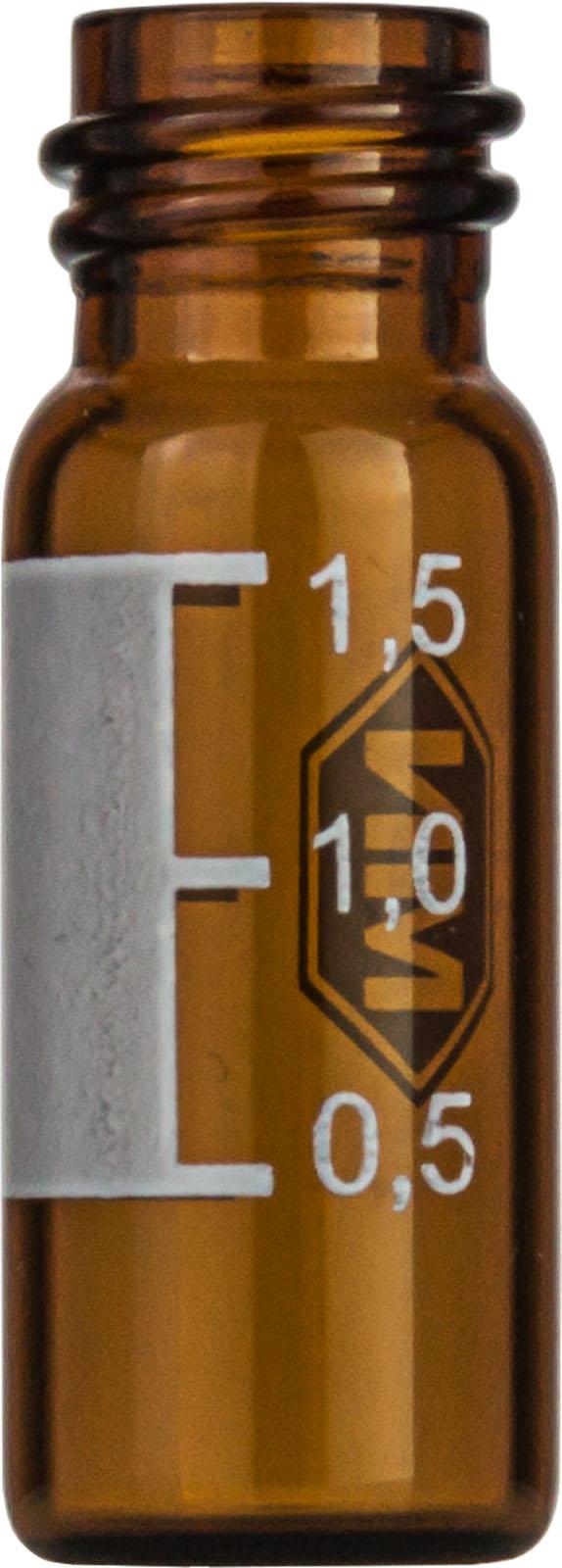 Vial N10-1.5, GW, b, 11,6x32, flach, SF