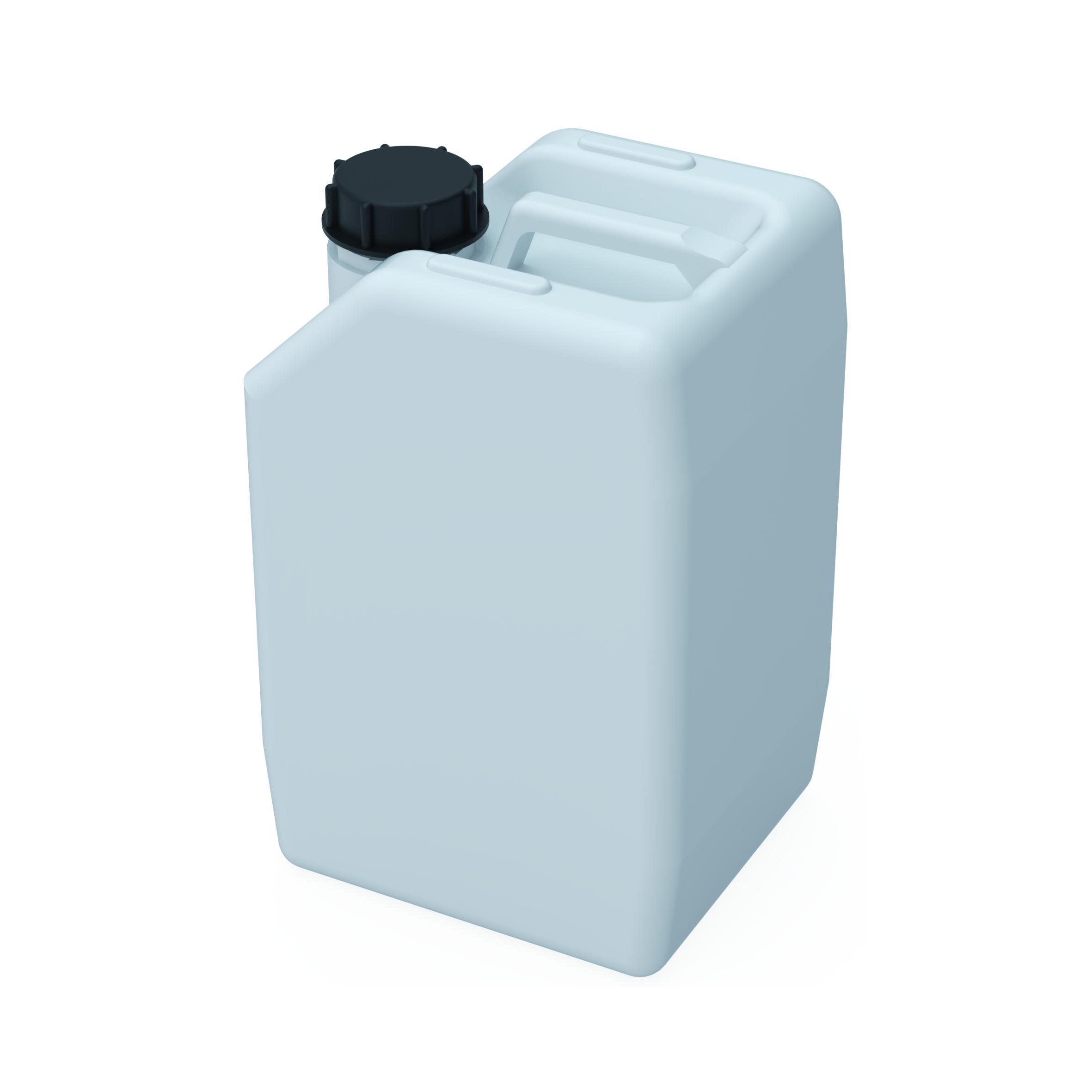 Kanister S60/61  Kanister mit Gewinde S60/61 (DIN60/61) zum Sammeln flüssiger Abfälle. Ausführung gemäß Tabell