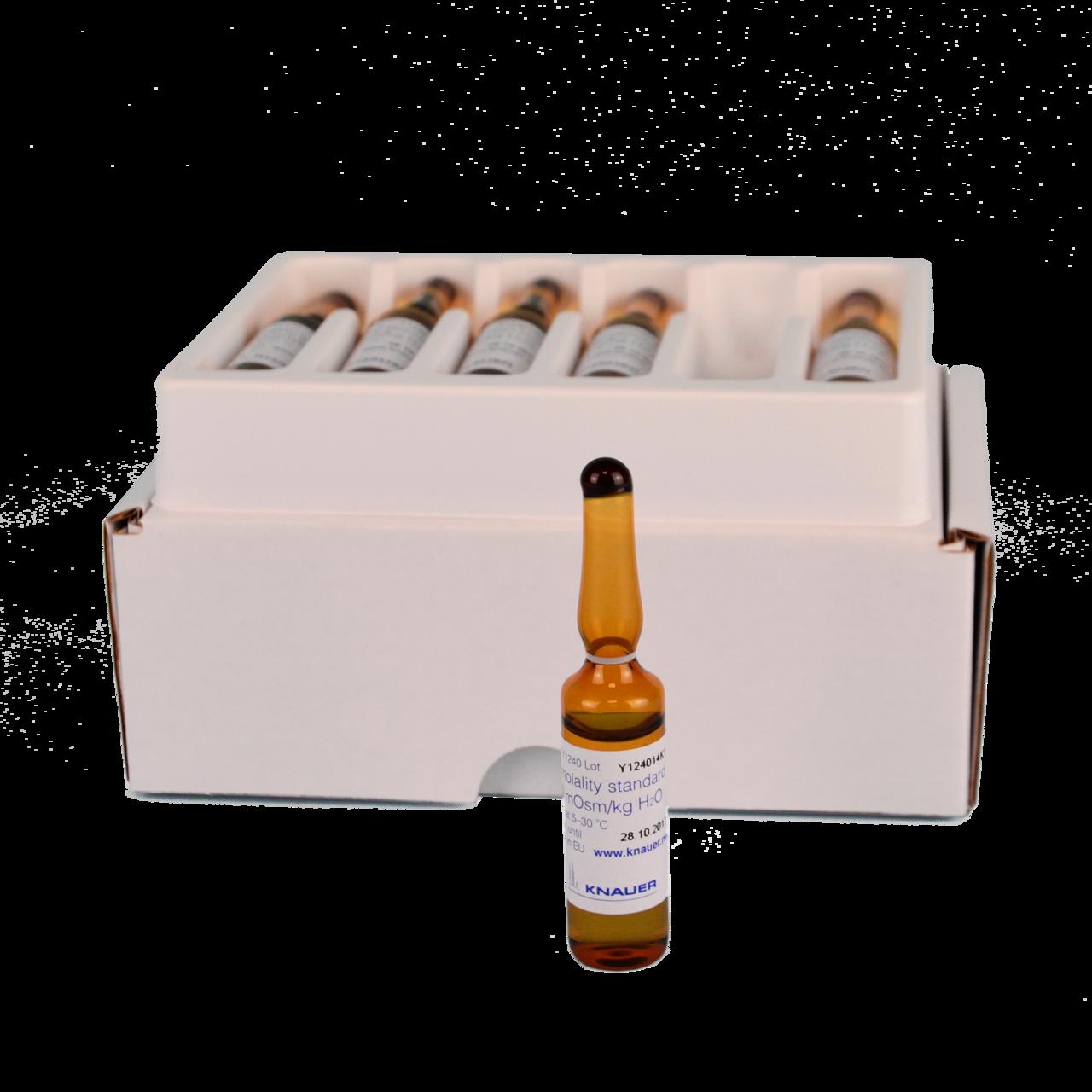 400 mOsmol/kg calibration solution 12 vials, 5 ml each certified CoA available online