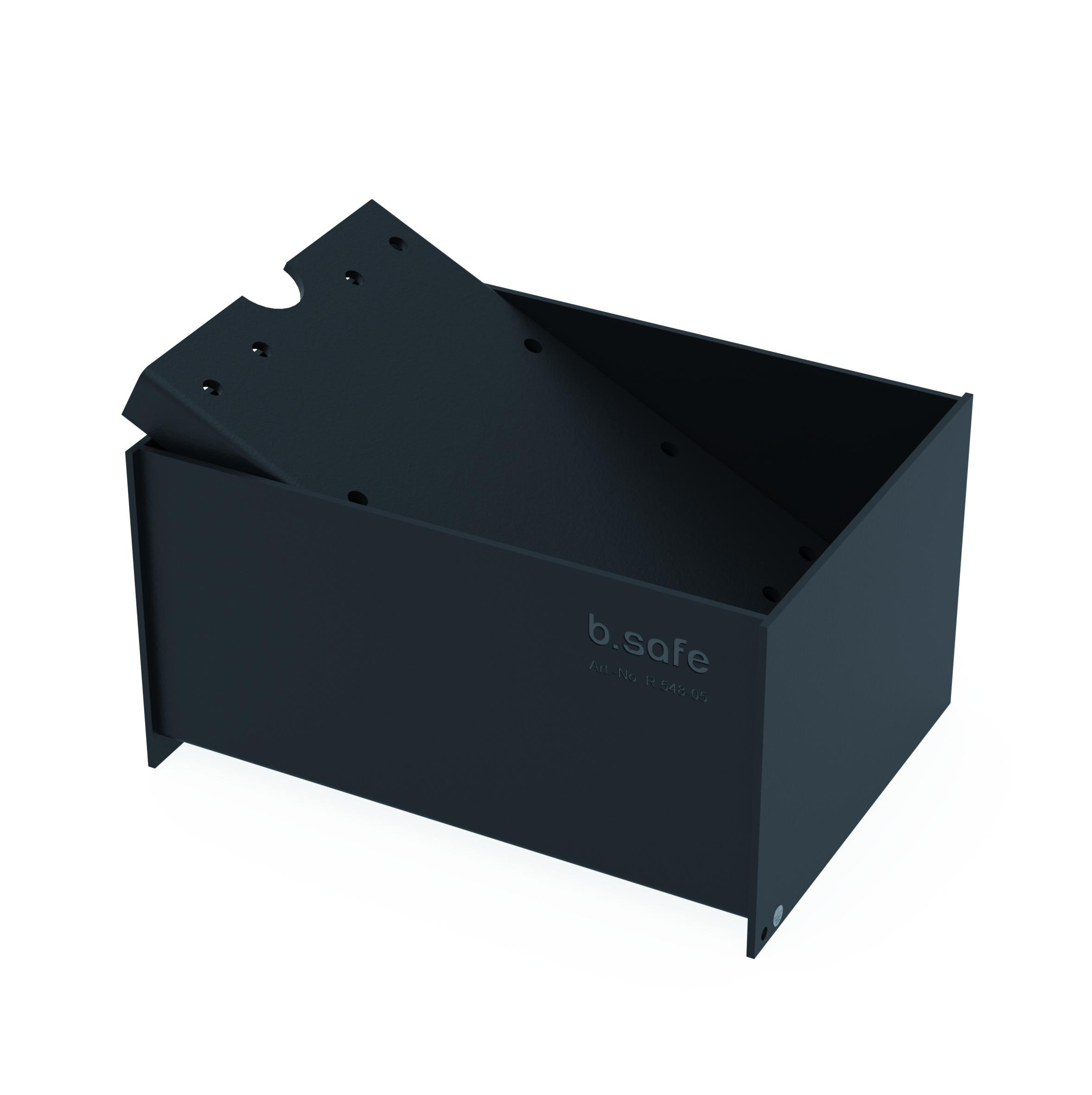 Auffangwannen  Praktische Auffangwanne aus PE bzw. ableitfähigem PE-EX. Platzieren Sie Ihre Abfallkanister in