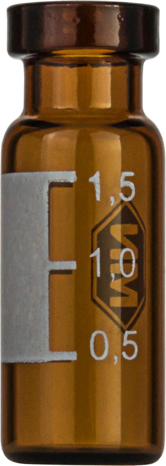 Vial N11-1.5, RR, b,11,6x32,fl.,SF, sila