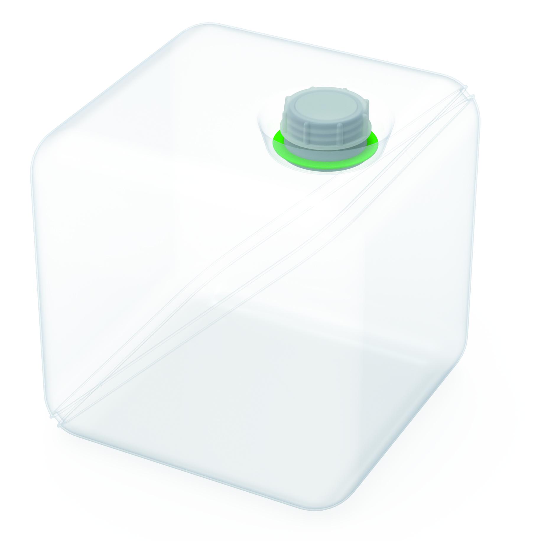 Politainer  Faltbarer Kanister zum Sammeln flüssiger Abfälle. Ausführung gemäß Tabelle, bitte bestellen Sie no