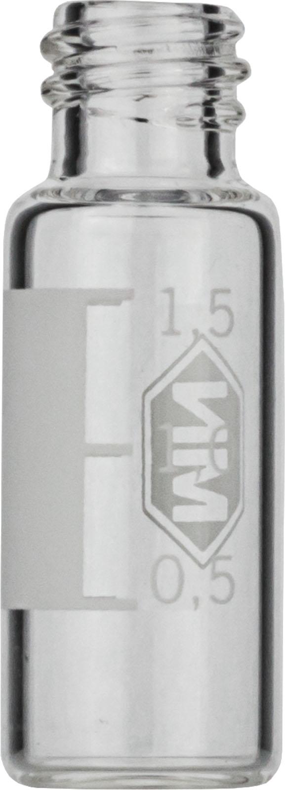 Vial N8-1.5, GW, k, 11,6x32, flach, SF