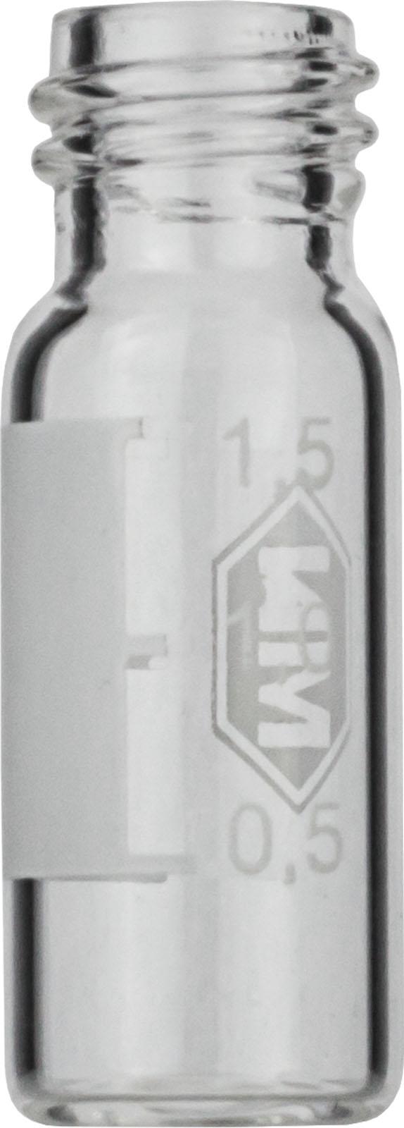 Vial N10-1.5, GW, k, 11,6x32, flach, SF