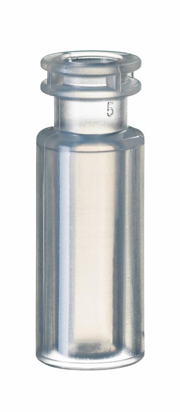 0,7ml PP Schnappring-Mikroflasche, 32 x 11,6mm, transparent