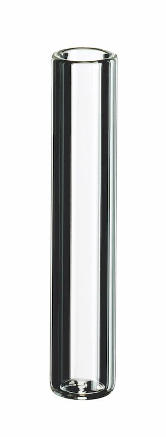 0,2ml Mikroeinsatz, 31 x 6mm, Klarglas, 1. hydrol. Klasse, flacher Boden (Füllv. 0,35ml)