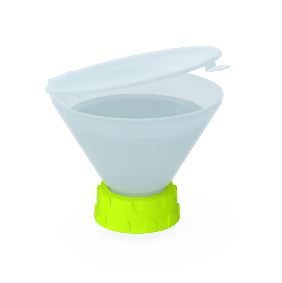 Trichter 130  Trichter aus PE bzw. ableitfähigem PE-EX zur Entsorgung von flüssigen Abfällen. Mit der frei dre