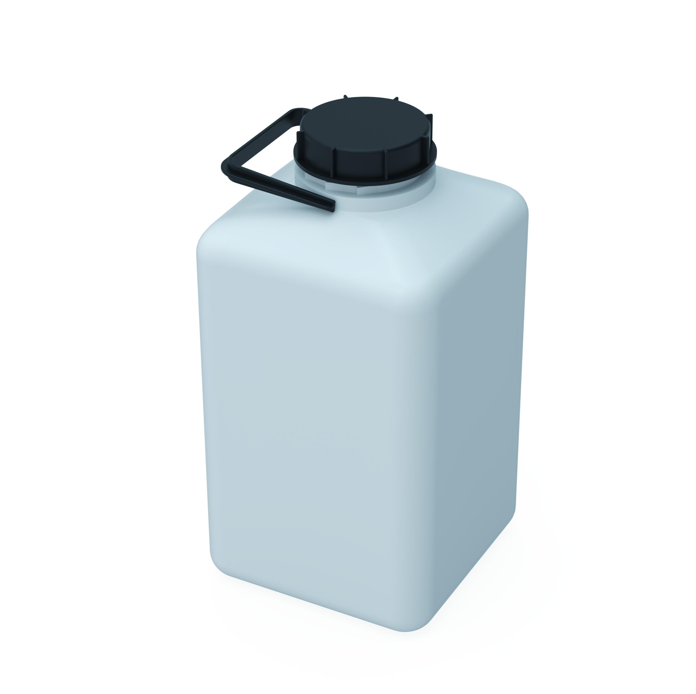 Kanister S90  Kanister mit Gewinde S90 (DIN90) zum Sammeln flüssiger Abfälle. Ausführung gemäß Tabelle, Kanist