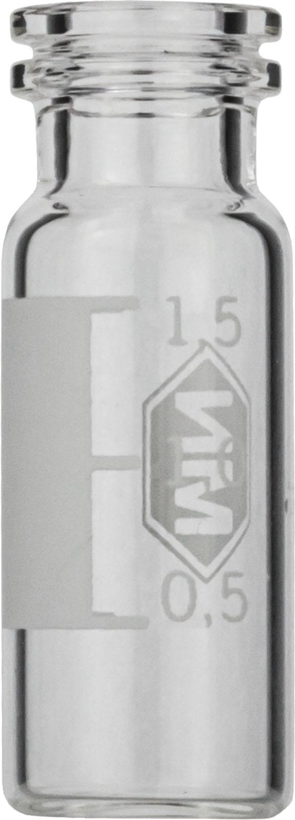 Vial N11-1.5, SR, k, 11,6x32, flach, SF