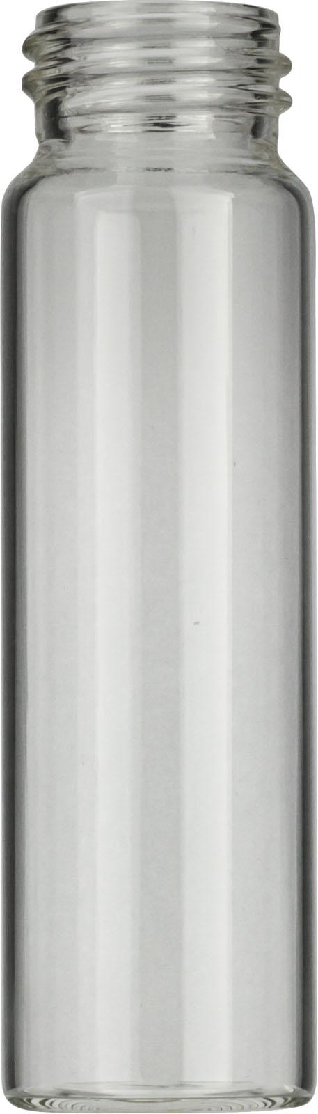 Vial N24-40, GW, k, 27,5x95, flach