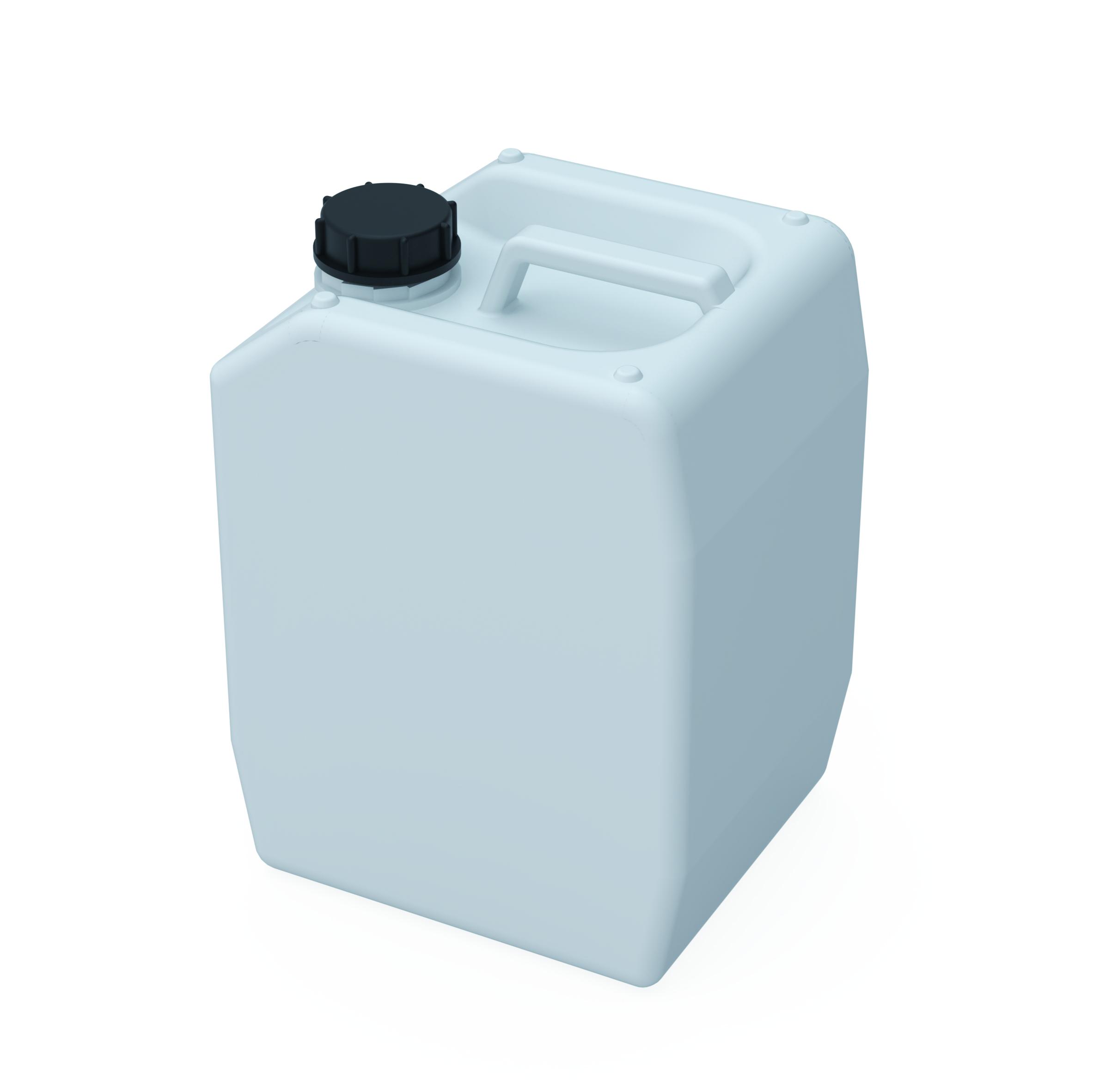 Kanister S55  Kanister mit Gewinde S55 (DIN51) zum Sammeln flüssiger Abfälle. Ausführung gemäß Tabelle  Abmess